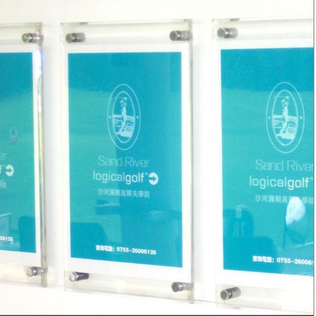 20 Eenheid / partij Gratis verzending A3 A4 A5 Acryl wandmontage - Huisdecoratie - Foto 4