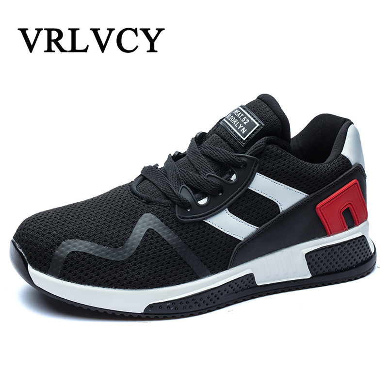 Men Sport Shoes 2018 Lace-up British style Breathable Shoes fashion Size 39-44 Trend wild Sneakers for Men ...
