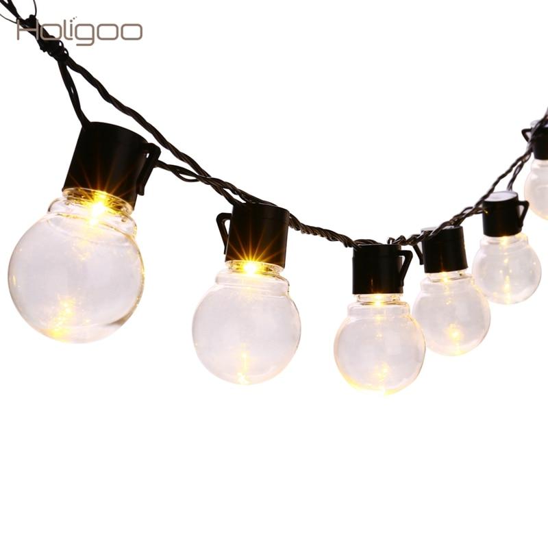 Aliexpress.com : Buy Holigoo 20 LED G45 String Lights