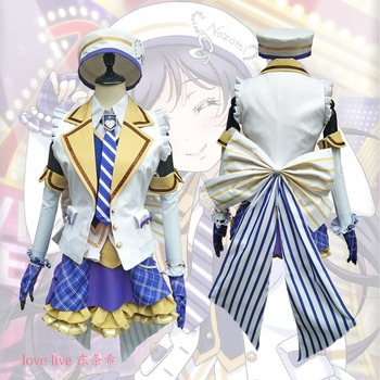 2018 New LoveLive! Card HR Tojo Nozomi Cosplay Costume Fancy Dress Adult Costumes Carnival/Halloween Costumes for Women S-XL 2