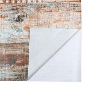 Image 3 - Rollo de papel tapiz de madera de vinilo autoadhesivo de PVC impermeable para sala de estar, cocina, habitación de niños, paredes, papel de contacto de madera