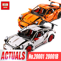 LEPIN 20001 20001B Technic Series DIY Model Building Kits Blocks Bricks Compatible With Legoing 42056 Boy