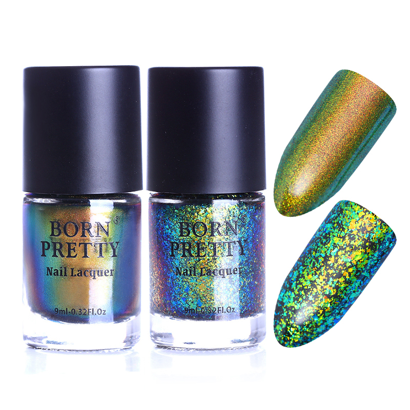 2 flasker BORN FETT Eternal Life Chameleon Nail Polish Destiny Fairy - Manikyr - Bilde 6