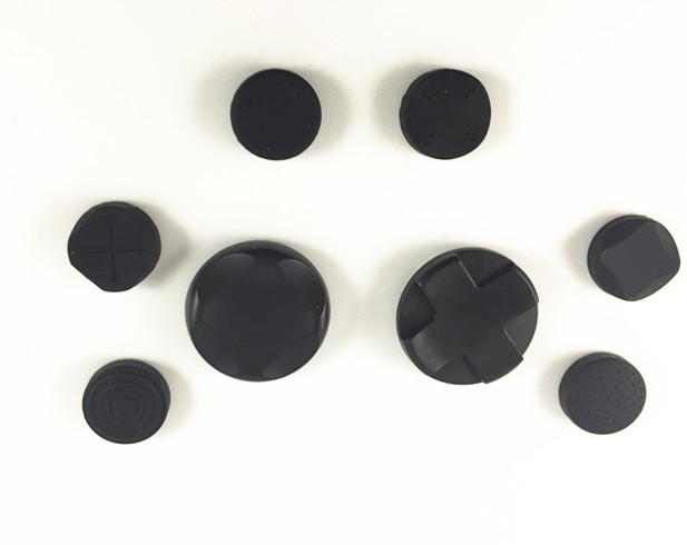 10sets Cross Button+Function Button+6pcs Silicone Caps Grip Analog D-Pad Joystick Covers For Sony PS Vita PSV Console 1000/2000