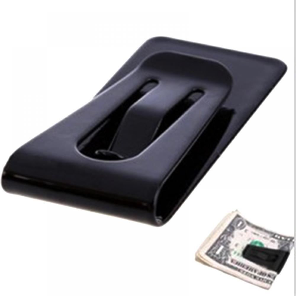 Best Mini Mens Stainless Steel Silver Slim Pocket ID Card Cash Money Clip Holder