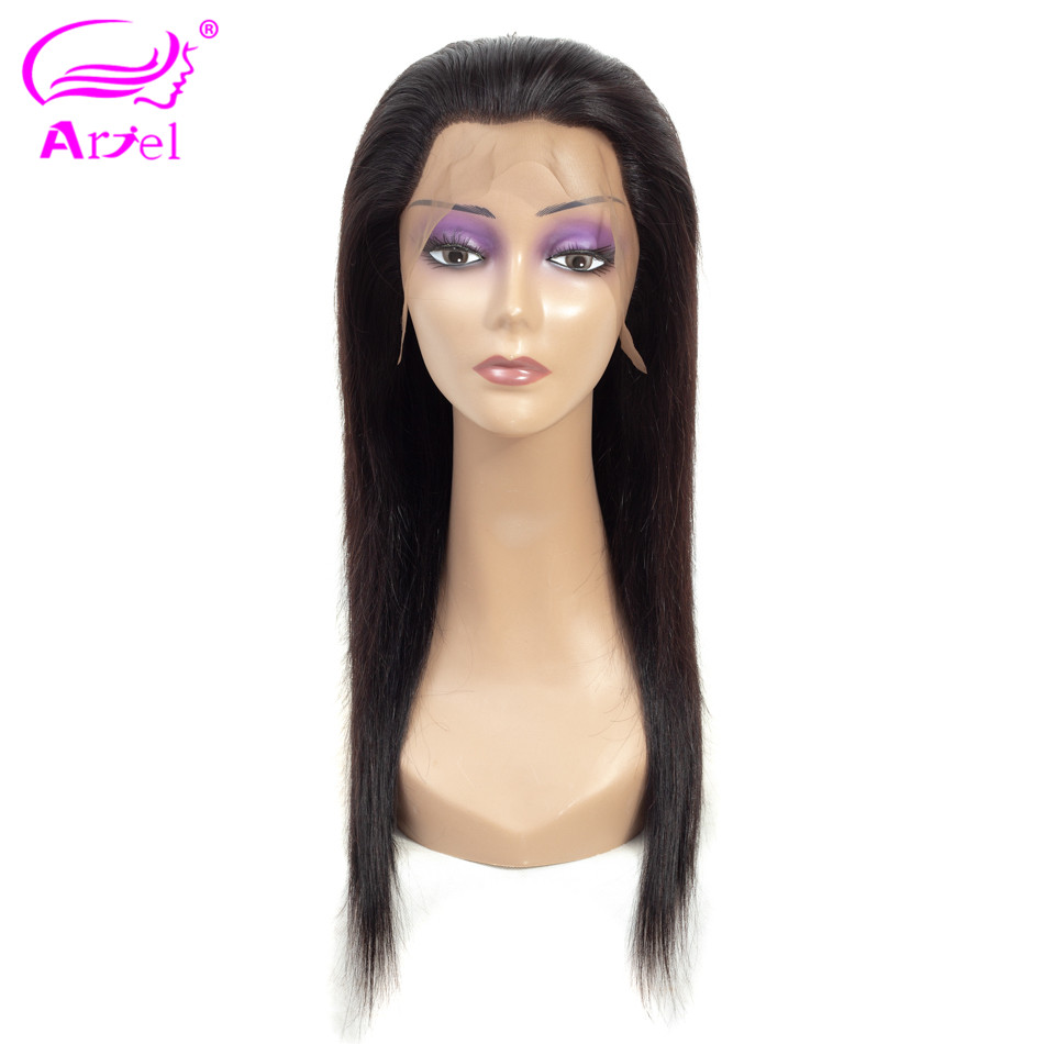 ARIEL 13 4 Lace Front Human Hair Wigs For Black Women Indian Straight Lace Frontal Wigs