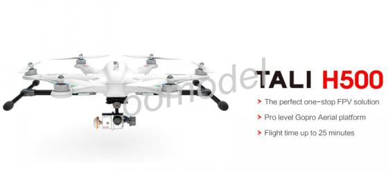 Walkera TALI H500 RC Quadcopter UFO Hexrcopter FPV  Drone W/ Devo F12E Radio/Battery/charger/G-3D Gimbal/Ilook+ Camera Free Ship