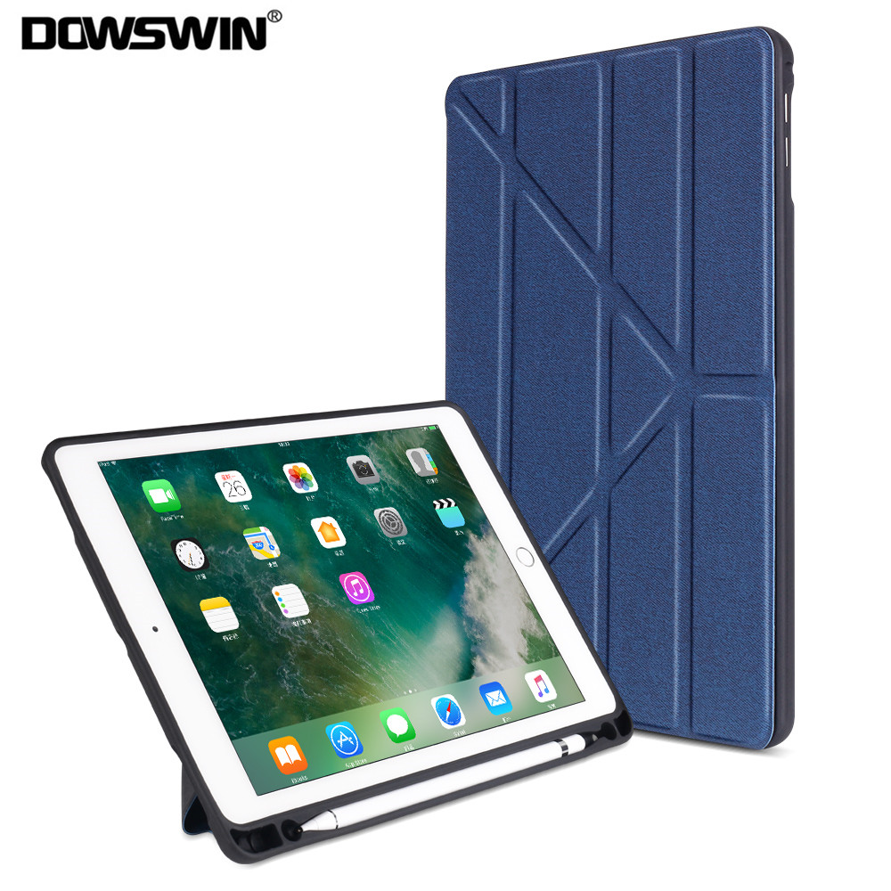 Case For IPad 9.7 2017 2018 Smart Cover For IPad Air 2 1 Case For IPad Pro 9.7,For Apple IPad 9.7 Inch Case With Pencil Holder