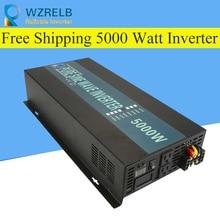 Reliable Inverter 12V/24V 5000W Peak Power Inverter Voltage Convertor Transformer 48V Automatic Adaptable