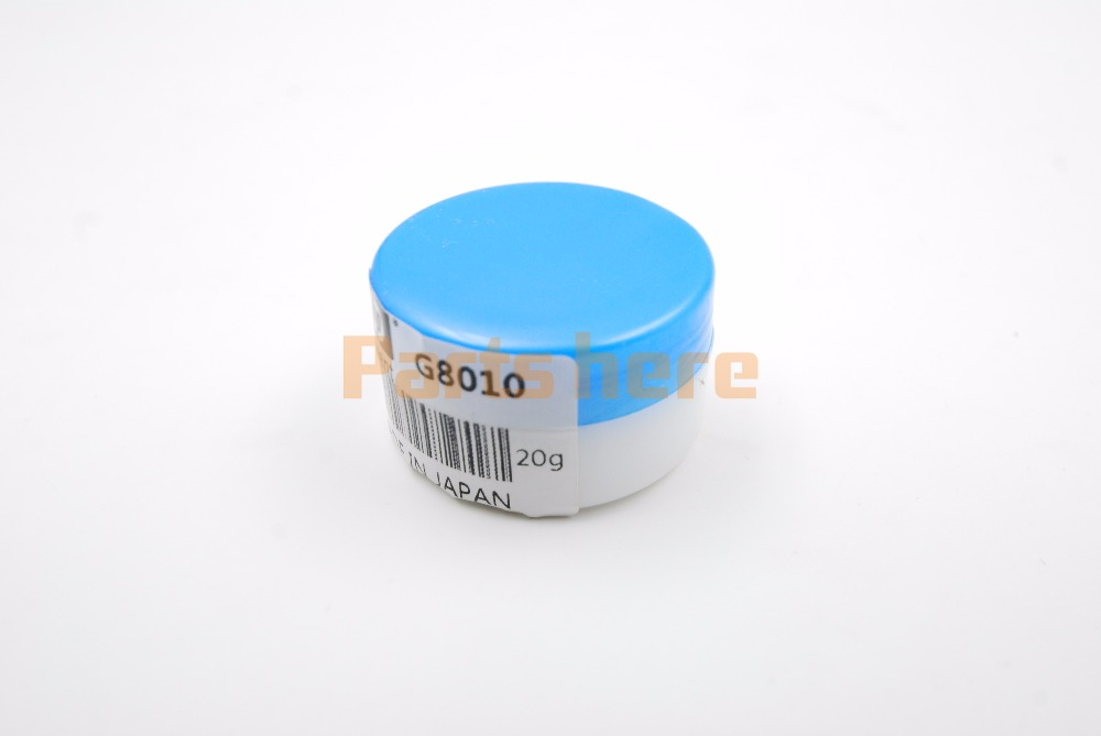 ORIGINAL for MOLYKOTE G8010 G-8010 Fuser Grease Fuser Oil Silicone Grease for HP P4015 4250 4345 P4515 M601 M602 M603 HL5445 50g grease for molykote for hp 300 original grease used for fuser film 4250 5000 p3015 hl5445 6180 2200 p2035 p2055 m401