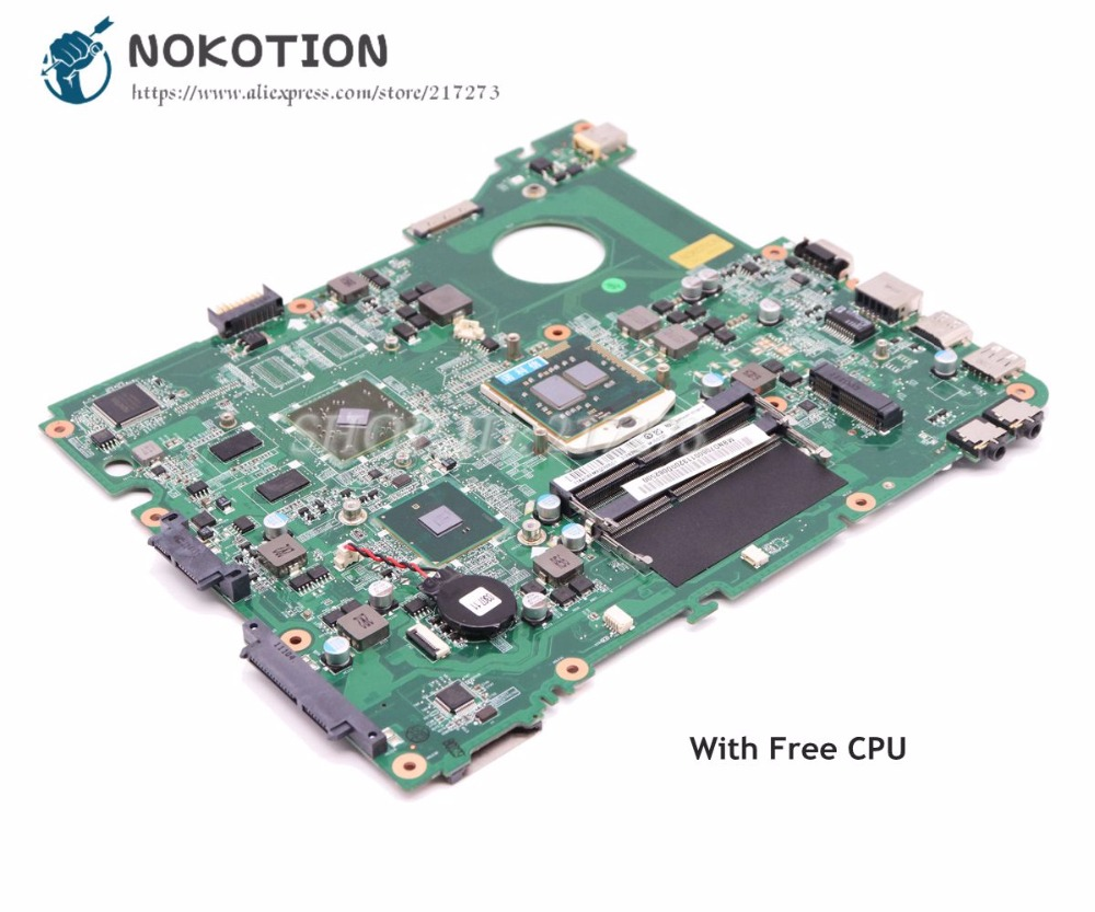 NOKOTION Mainboard For Acer eMachines E732 E732Z Laptop Motherboard DA0ZRCMB6C0 MBND706001 MB.ND706.001 HD6730M HM55 Graphics nokotion mb nc806 001 da0zrcmb6c0 rev c mbnc806001 for acer aspire e732 e732z motherboard hm55 ddr3 ati hd 5470