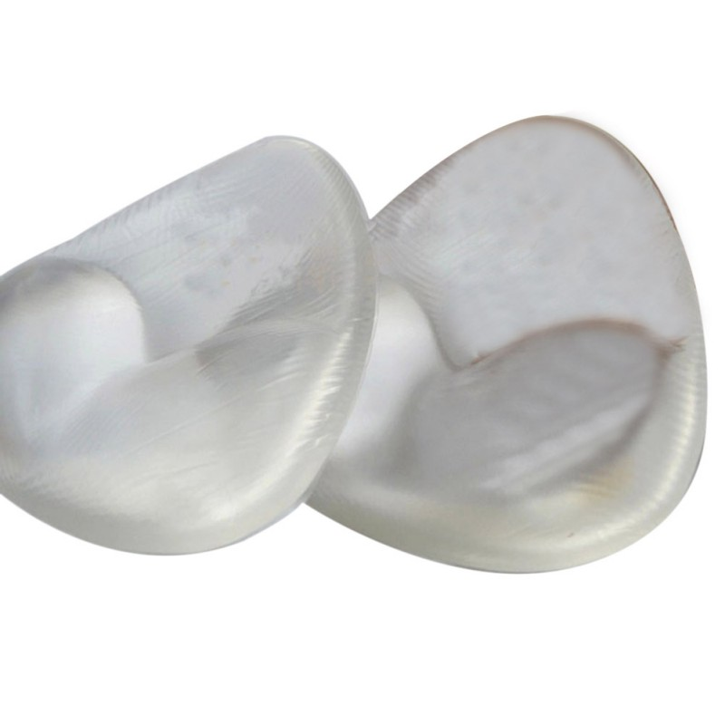 Sexy Women Bra Triangle Pads Enhancer Breast Pads Silicone Bra Gel invisible Inserts Push Up Bra Insert Breast P1