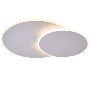 Image 5 - Girevole Ultra sottile Moderno Soffitto A LED Luci Per corridoio Camera Da Letto corridoio Marrone/Bianco lampade A Soffitto Lampada lamparas de techo
