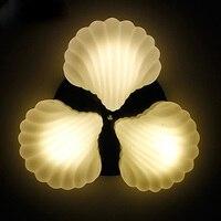 הים התיכון לבן E27 תקרת אורות אישיות סלון פגז מסעדת תאורת מתקן droplight חדר שינה מנורות ZA