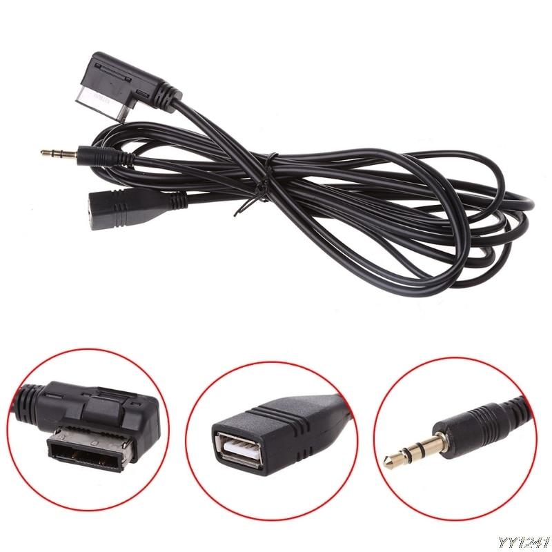 Voiture AMI Music Interface Chargeur AUX USB Câble pour Mercedes Benz C63 E200l CLS ML