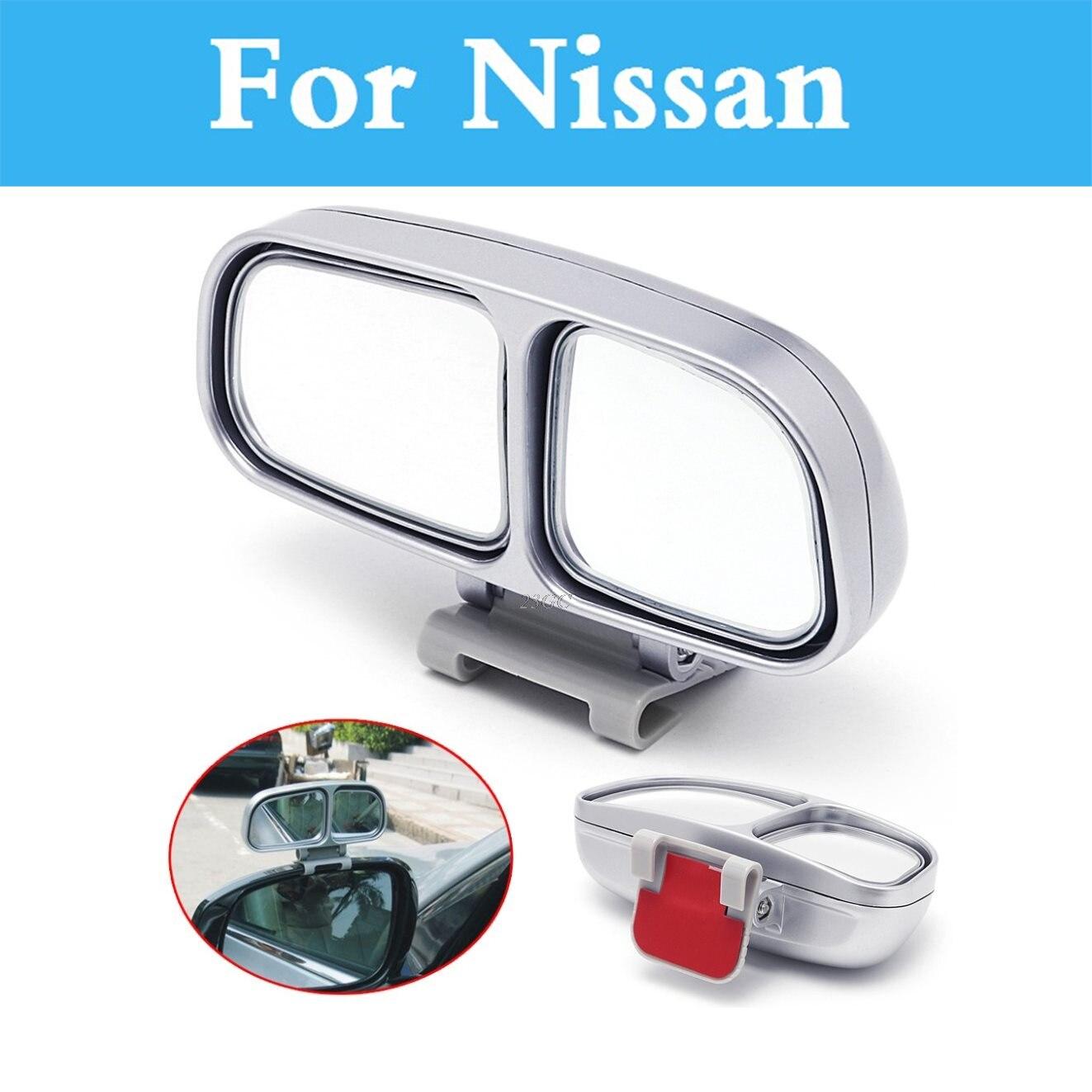 Adjustable convex wide angle blind spot mirror car for nissan altima armada avenir ad almera classic