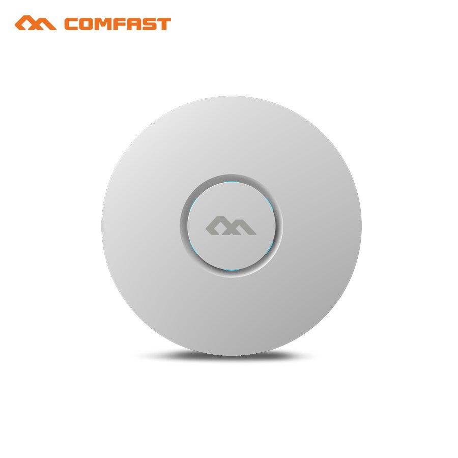 COMFAST беспроводной маршрутизатор для помещения, 300 м, потолочный AP Openwrt Wi-fi точка доступа AP 6dbi антенна 48vpoe Wi-fi усилитель сигнала