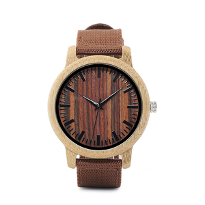 Image 2 - BOBO BIRD WD10 Mens Luxury Top Brand Design Watch Men Wood Wristwatches Designer Watches Luxury Bamboo Watch Gift Box Accept OEM