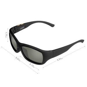 Image 2 - Солнцезащитные очки оригинального дизайна с ЖК поляризационными линзами, регулируемое электронное управление, Прямая поставка