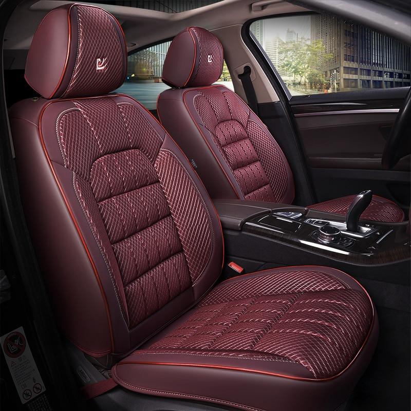 3D сетка текстурированная бамбуковый уголь подушка для здоровья, чехол для автокресла, автостайлинг для Audi BMW Benz Toyota Honda CRV SUV и других gener - 2