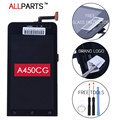 Original Black 4.5inch 845x480 Display For ASUS Zenfone 4.5 A450CG LCD with Touch Screen Digitizer Assembly