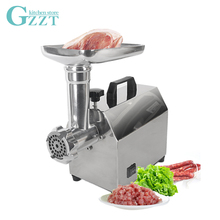 Home Household Meat Grinder Mincer 5mm Grinding Plate Stainless Steel 25kg/h