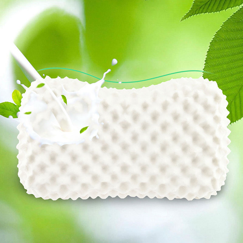 New Ms Massage Butterfly Latex Pillows Thailand Latex Bedding Bedroom Pillow Cervical Orthopedic Natural Foam Pillow