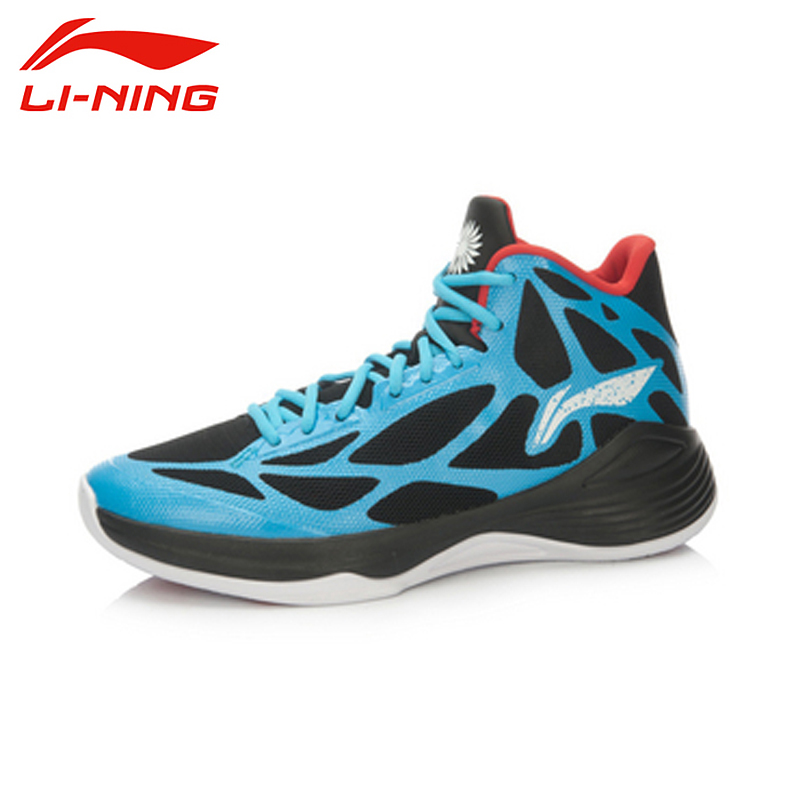 LI-NING 2016 Men Outdoor Basketball Shoes Hard-Wearing Breathable Cushioning Damping Lace-Up Sneakers Sport Shoes ABPL009 XYL068
