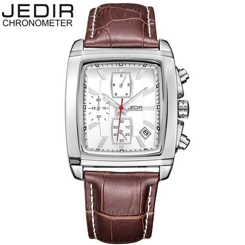 Top Brand JEDIR Men Watches Military Quartz Wristwatches Luxury Watches Waterproof Relogio Masculino Gift Box Free Ship bulova часы bulova 96w203 коллекция diamonds