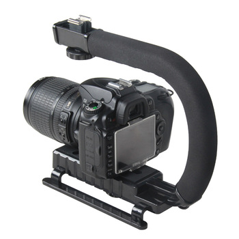 Accessories C Shaped Holder Grip Video Handheld Gimbal Stabilizer for DSLR Nikon Canon Sony Camera and Light Portable Steadicam for Gopro-in Handheld Gimbal from Consumer Electronics on Aliexpress.com   Alibaba Group Alibaba