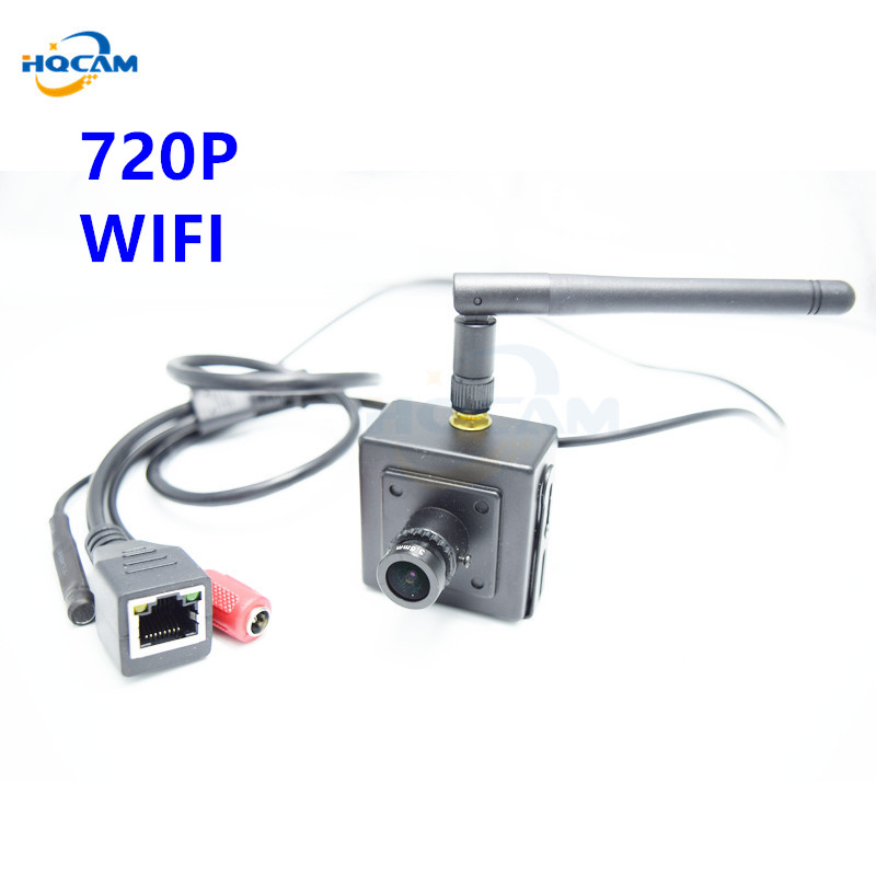HQCAM Mini Ip Camera Wifi Camera 720P Mini Security Wireless Security Home System Onvif Webcam Audio Camera Seguridad Vigilancia mini wifi 720p smart ip camera home security system