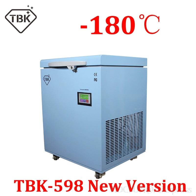 TBK-598 nouvelle version séparateur de gel-180 degrés machine congelée pour Samsung S6 edge S7 bord LCD réparation d'écran tactile