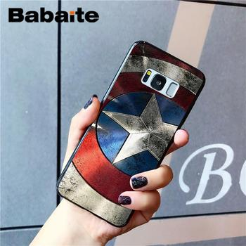Babaite Marvel The Avengers Jorker Dead Pool DIY Printing Drawing Phone Case For Samsung Galaxy S4 S5 S6 S7 S8 S9 S9 plus 1
