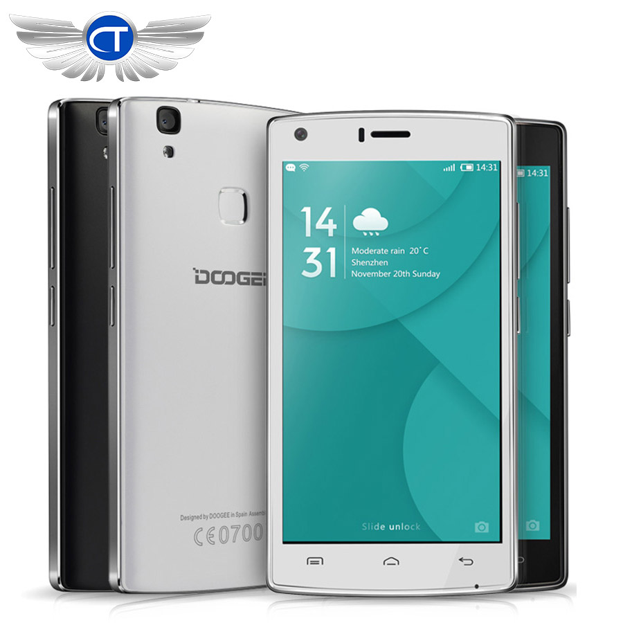 "Doogee X5 MAX Pro Doogee X5 MAX 5.0"" 4G LTE Mobile Phone MTK6737 Quad Core 2GB RAM 16GB ROM Android 6.0 4000mAh 8MP Fingerprint"