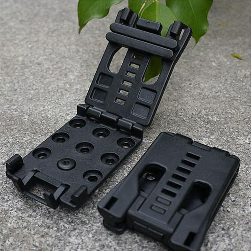Multitool Fast Knife Clip Back Clamp K Sheath Scabbard Kits Outils à main Outdoor Waist Clamp With Screw Pocket Knife Holder