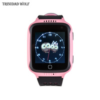 Touch Screen Anti Lost Watch For Kids With Camera Flashlight For Android Phone GPS Watch Children Smart Anti Lost Alarm