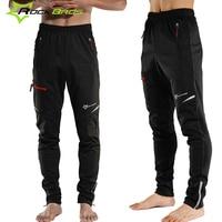 ROCKBROS Cycling Pants Winter Fleece Thermal Cycling Sport Pants Long Trousers Downhill Bike Bicycle Pants MTB