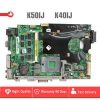 YTAI K50IJ K40IJ motherboard for ASUS X5DIJ K60IJ K40IJ laptop Motherboard 14 or 15 REV2.1 60 NVJMB1100 B21 Mianboard Tested