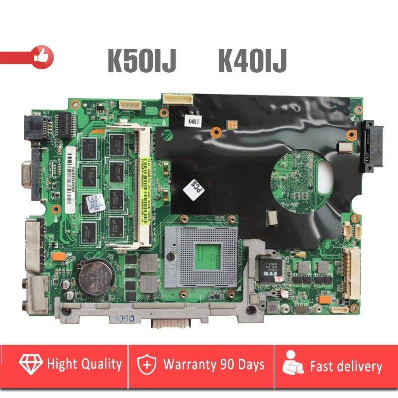 YTAI K50IJ K40IJ motherboard for ASUS X5DIJ K60IJ K40IJ laptop Motherboard 14 or 15 REV2.1 60-NVJMB1100-B21 Mianboard TestedYTAI K50IJ K40IJ motherboard for ASUS X5DIJ K60IJ K40IJ laptop Motherboard 14 or 15 REV2.1 60-NVJMB1100-B21 Mianboard Tested