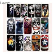 e20f9976a57 Lavaza 16af Joker Batman la broma cubierta de la caja para disco duro Samsung  Galaxy 9 8 Plus S7 S6 borde S5 S4 S3 Grand Prime