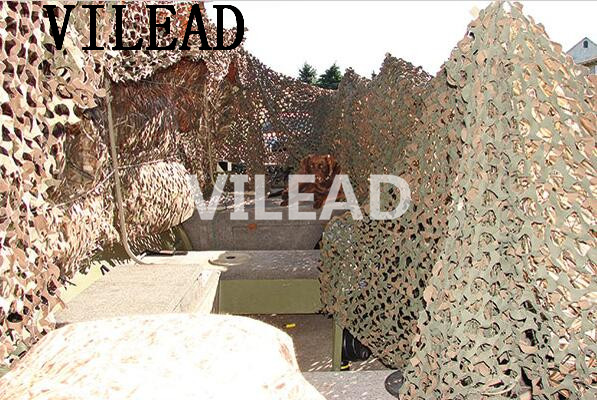 VILEAD 3M x 7M (10FT x 23FT) Desert Digital Camo Netting Military Army Camouflage Net Shelter for Hunting Camping Car Cover Tent vilead 7m x 9m 23ft x 29 5ft desert military army camo netting digital camouflage net jungle shelter for hunting camping tent