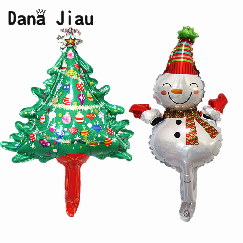 Ballon Santa Claus Candy Decoration Balloons Happy Year Kid Merry Christmas Sock Gift Toy Christmas Tree Snow Man Party Event & Party Ballons & Accessories