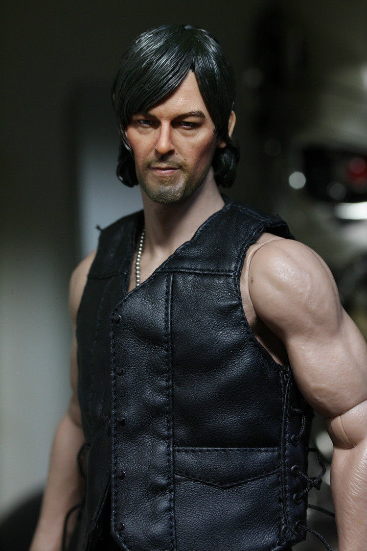 On Sale 1/6 Headplay Male Figure Head Model The Walking Dead DARYL DIXON Norman Reedus Head Sculpt for 12 Action Figure norman god that limps – science and technology i n the eighties