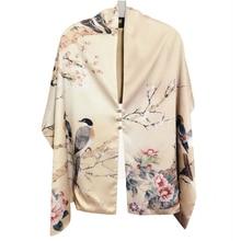 סתיו משי צעיף נשים חורף אופנה בסגנון הסיני משי הדפסת צעיף Pashimina ארי טבעת צעיפי נשים אבזר 170X46cm TT395