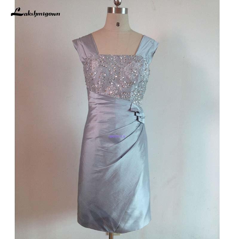 fe43ec3138 Cheap Madre de la novia vestidos cordón rodilla longitud corta novio madre  vestidos de falda de