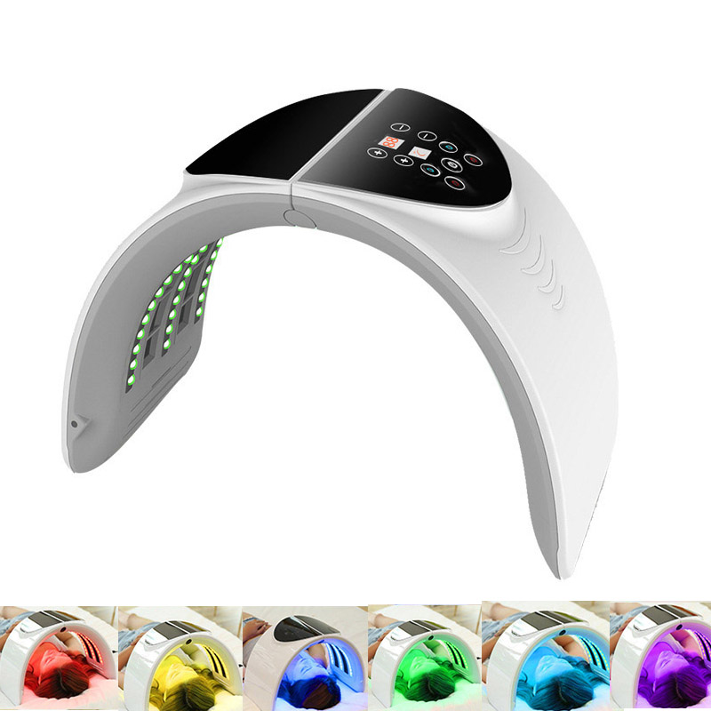 NEW 7 Color LED PDT Light Skin Care Beauty Machine LED Facial Mask PDT Therapy For Skin Rejuvenation Acne Remover Anti-wrinkle