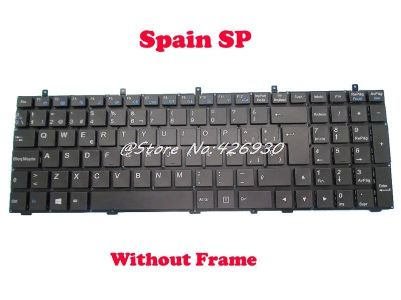 ラップトップキーボード用スタジオ Mx 15 アイビー MP 12A36E0 430W 6 80 W3700 162 1 6 79 W370ET0K 160 W スペイン SP  グループ上の パソコン & オフィス からの キーボード の中 1