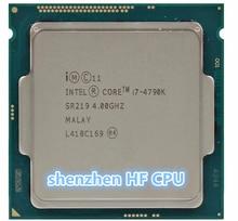 Original lntel Processor i7 4790K Quad Core 4.0GHz LGA 1150 TDP 88W 8MB (working 100% Free Shipping)