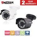 Tmezon 3000tvl 2.0mp 1080 p ahd cámara bullet metal inicio seguridad cctv 24led infrarrojos de visión nocturna al aire libre hasta 20 m/65ft