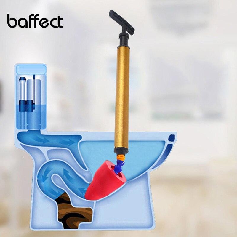 2018 Nova Tubulação de Aço Blaster Dreno De Ar de Alta Pressão Da Bomba De Êmbolo Removedor de Obstrução Da Tubulação Sanitários Do Banheiro Pia Da Cozinha Cleaner Kit